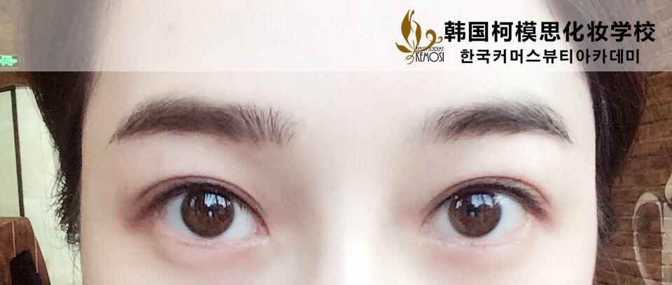 韩式半永久化妆术_上海柯模思化妆学校