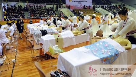 柯模思安社长出席第十届上海国际美发美容节