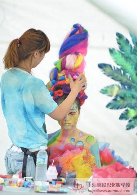 2011国际梦幻妆作品