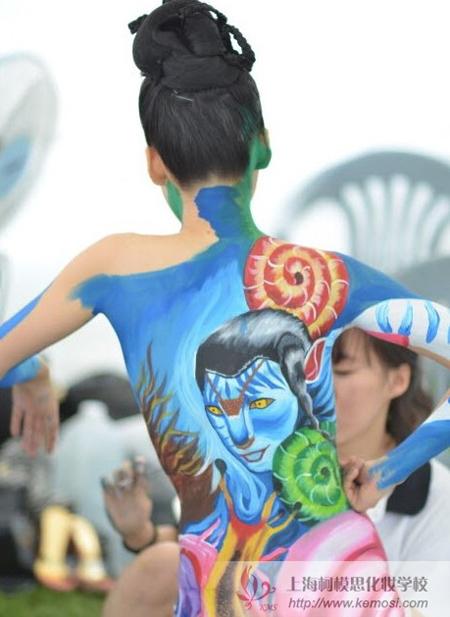 2011人体彩绘作品
