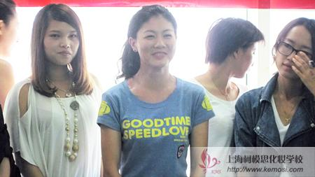 参加2011国际人体彩绘节的中国学员