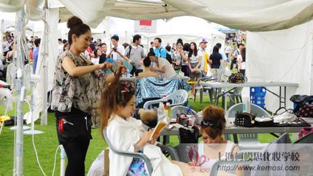 日本彩妆师创作现场