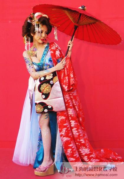 日本选手的梦幻妆作品