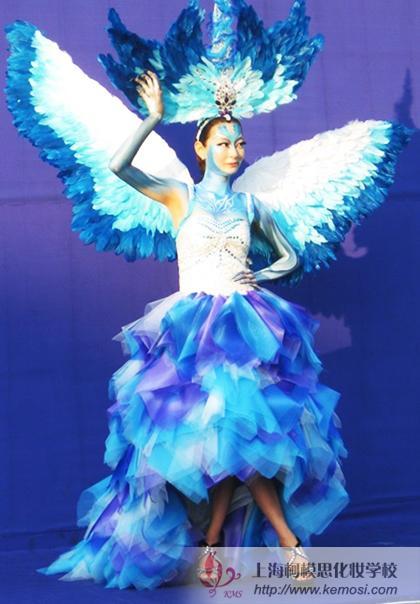 梦幻妆作品_2011国际人体彩绘节