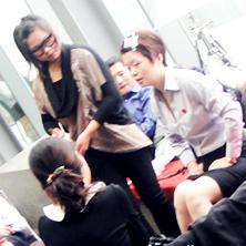 柯模思美甲学校为sigma电影会所宣传片拍摄化妆造型