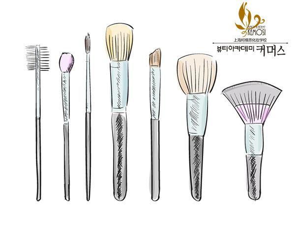 学化妆如何选择化妆刷