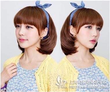 2013年发型潮流走向 韩国美女短发掀起另类潮流